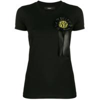 Diesel Camiseta Com Detalhe No Busto - Preto