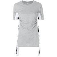Stella Mccartney Camiseta Drapeada - Cinza