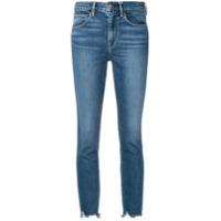 3X1 Cropped Skinny Jeans - Azul