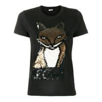 P.a.r.o.s.h. Camiseta 'meow' - Preto
