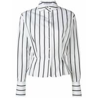 Ermanno Scervino Camisa Listrada - Branco