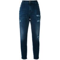 Diesel Calça Jeans Boyfriend 'fay' - Azul