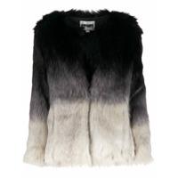Apparis Tonal Faux Fur Jacket - Preto