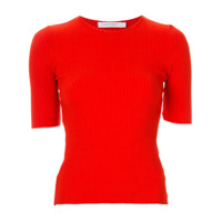 Nobody Denim Camiseta Canelada 'luxe' - Vermelho