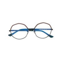 Marni Eyewear Armação De Óculos Geométrica - Preto