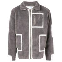 C2H4 Jaqueta Bomber 'workwear' - Cinza