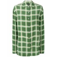 Marc Jacobs Tartan Pattern Shirt - Green