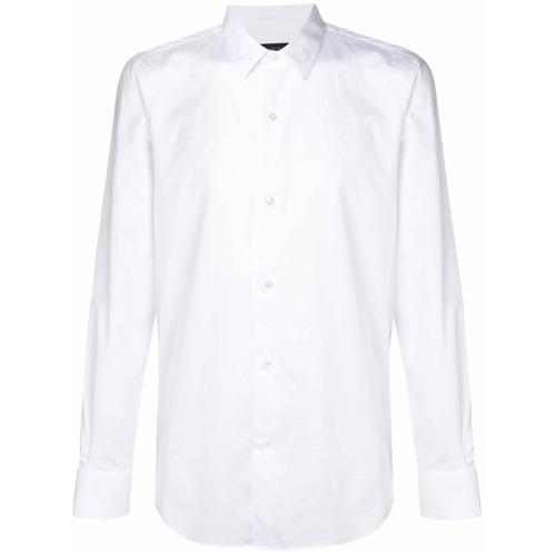 Imagem de Ann Demeulemeester Camisa slim com mangas longas - Branco