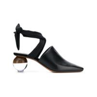 Neous Sapato De Couro - Preto