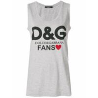 Dolce & Gabbana Regata 'fan' - Cinza