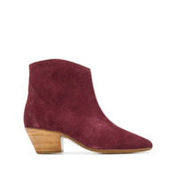 Isabel Marant Ankle Boot 'dacken' - Roxo