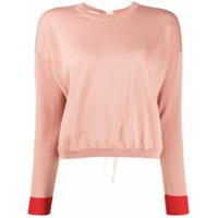 Marni Suéter Com Listras - Rosa