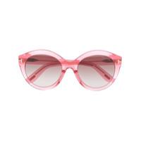 Tom Ford Eyewear Óculos De Sol Redondo Rosanna