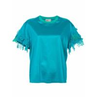 Kolor Blusa Com Detalhe De Renda - Verde