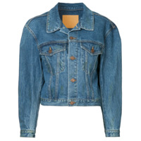 We11Done Jaqueta Jeans - Azul