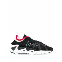 Y-3 Panelled Sneakers - Preto