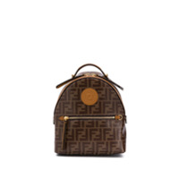 Fendi Mini Monogram Backpack - Neutro