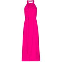 Jacquemus Vestido La Robe Midi Frente Única - Rosa
