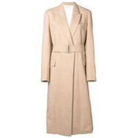 Victoria Beckham Trench Coat Com Cinto - Neutro