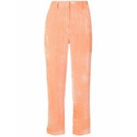 Sies Marjan Cropped Trousers - Laranja