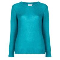 Moncler Suéter Decote Careca - Azul