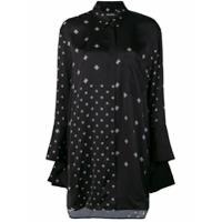 Neil Barrett Camisa Com Estampa De Estrela Militar - Preto