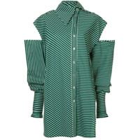 Anouki Camisa Longa Com Recortes - Green