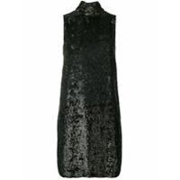 P.a.r.o.s.h. Vestido 'ginter' Com Paetês - Marrom
