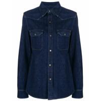 Calvin Klein 205W39Nyc Camisa Jeans - Azul