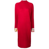 Emilio Pucci Vestido Com Estampa - Vermelho