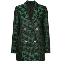 Mother Of Pearl Blazer Brocado - Verde