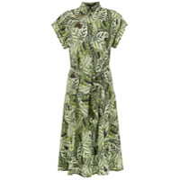 Andrea Marques Vestido Chemise Laço - Green