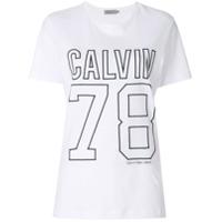 Calvin Klein Jeans Camiseta Com Logo - Branco