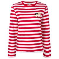 Fiorucci Camiseta Listrada - Vermelho