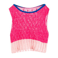 Marco Rambaldi Colour-Block Knitted Top - Rosa