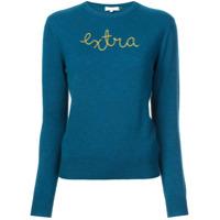 Lingua Franca Suéter 'extra' Em Cashmere - Azul