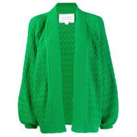 I Love Mr Mittens Oversized Cardigan - Verde