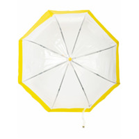 Hunter Guarda-Chuva Com Recortes - Amarelo
