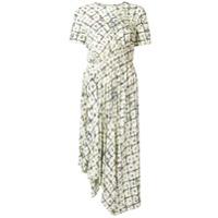 Preen Line Vestido 'keziah' Floral - Branco