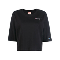 Champion Camiseta Com Logo Bordado - Preto