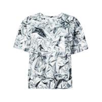 Mm6 Maison Margiela Camiseta Com Estampa - Branco