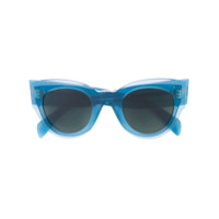 Celine Eyewear Óculos De Sol 'marta' - Azul
