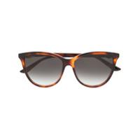 Cartier Óculos De Sol 'c Décor' - Marrom