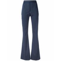 Pierre Balmain Calça Listrada - Azul