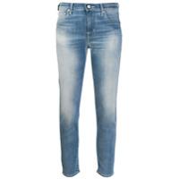 Jacob Cohen Calça Jeans Cropped 'kimberly' - Azul