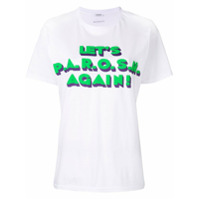 P.a.r.o.s.h. Camiseta Com Logo - Branco