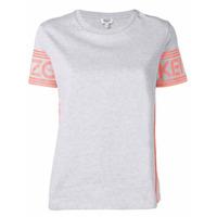 Kenzo Logo Sleeve T-Shirt - Cinza