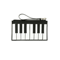 Sarah Chofakian Clutch 'piano' Decouro - Preto