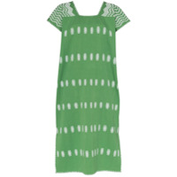 Pippa Holt Vestido Kaftan Com Bordado - Green