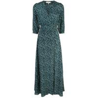 Hansine Vestido Com Decote V - Verde